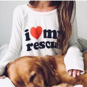 Chaser sweatshirt I ❤️ my rescue 🆕